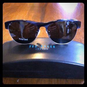 NWT Ted Baker sunglasses w blue/black trim